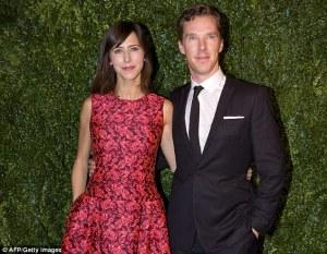 Cumberbatch & Hunter in 2014 - Daily Mail