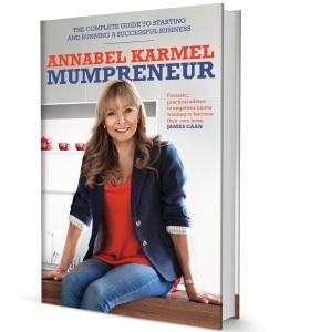 Annabel's new book 'Mumpreneur'
