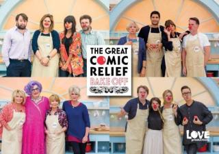 This years bake off celebrities! (Love Productions)