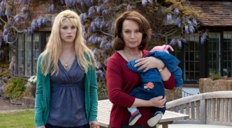 Lucy Griffiths and Francesca Annis in the ITV adaption Copyright ITV
